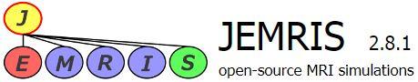 Simulated MRI - JEMRIS logo