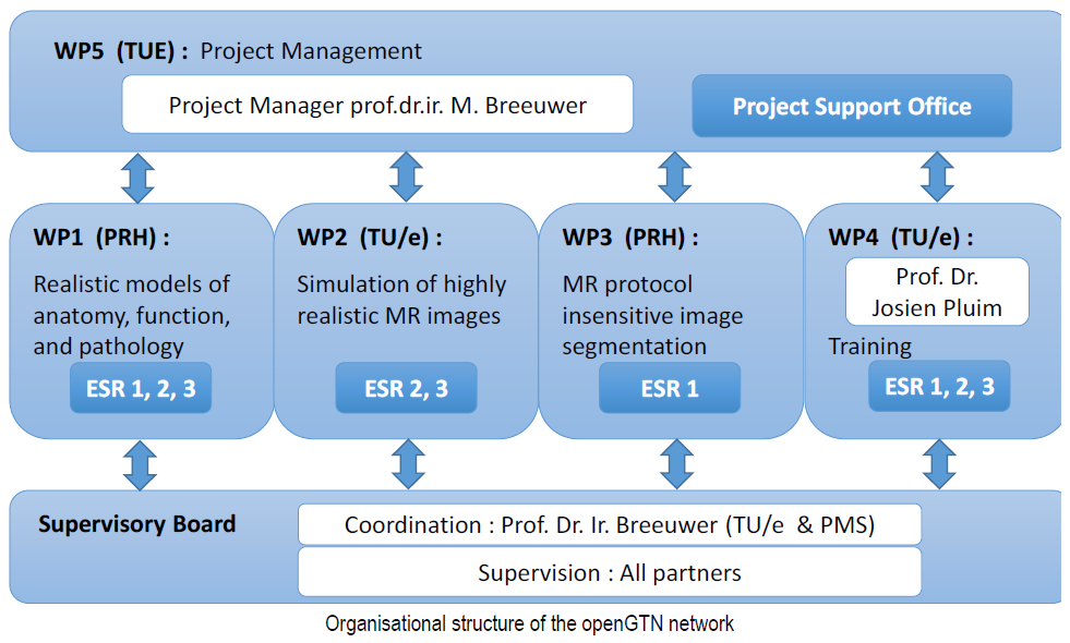 management structure openGTN